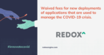 Waived Connection Fees to Digital Apps for Healthcare Organizations, Redox