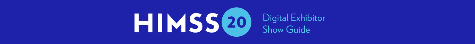 2020 HIMSS Global Health Conference & Exhibition logo